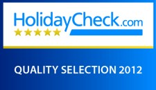 Parkhotel Frank ist als HolidayCheck Quality Selection 2012 ausgezeichnet