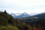 Herbstlicher Blick zurck Richtung Tiefenbach
