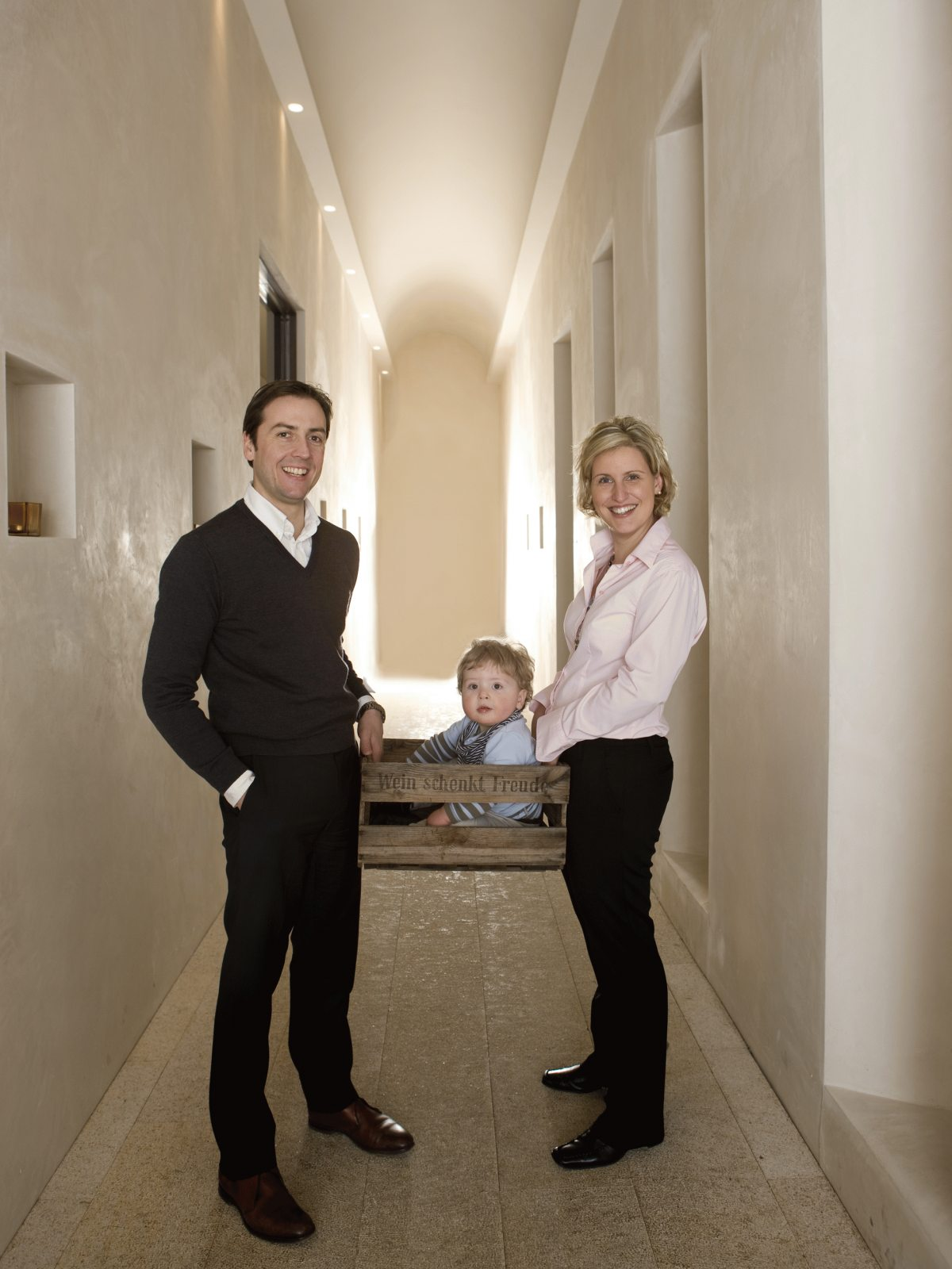 Die Winzerfamilie H.O. Spanier, Louis und Carolin Spanier-Gillot
