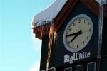 Clock in Big White