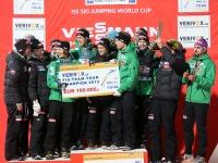 Norwegen gewinnt die FIS-Team-Tour