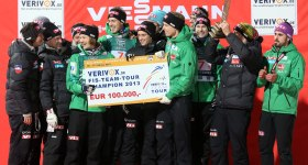 Norwegen gewinnt die FIS-Team-Tour