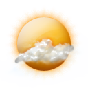 Wettericon: Bewölkt