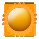 Wettericon: Sonne