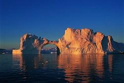 Grönland's Eisschollen
