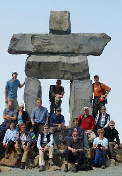 Inukshuk am Whistler Mountain