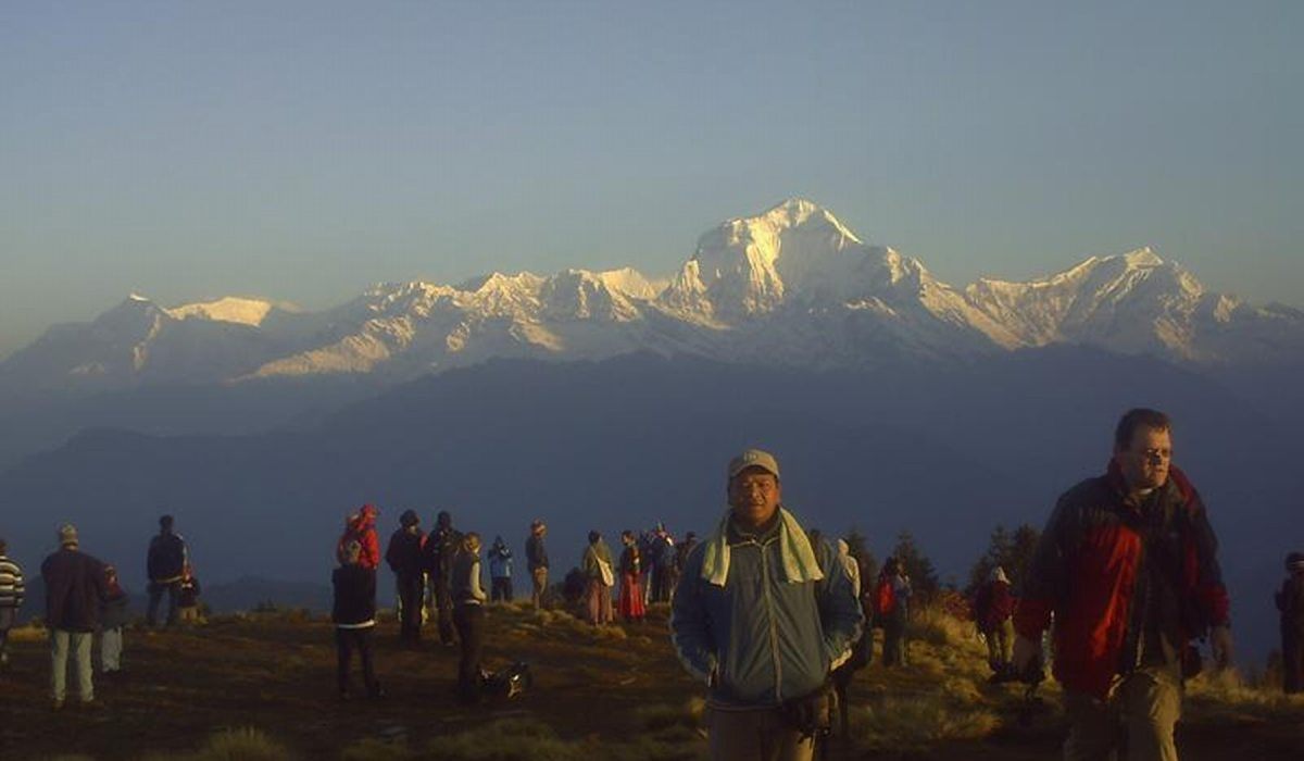 Panoramatrekking in Nepal