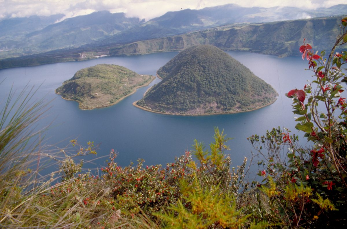Cuicocha Crater Lake