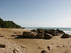 Ostküste, Strand Ag.Varvara