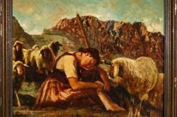 Bild vom Maler Josef Hengge