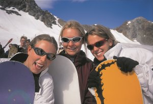 Girls have fun - Bergbahnen Oberstdorf Kleinwalsertal