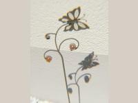 Schmetterlinge am Haus