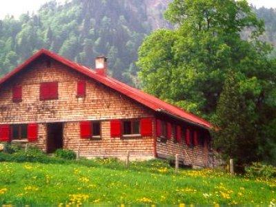 Alpe im Wandergebiet zwischen Schwand und Sämelalpe