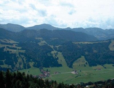 Blick auf Thalkirchdorf