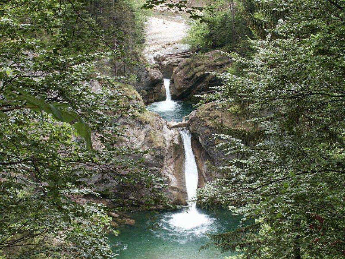 Naturspektakel Buchenegger Wasserfälle