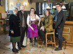 Ihre Gastgeberfamilie Bischof und Gorbach und Amann
