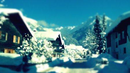 Weststrasse im Winter