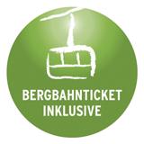 Bergbahn inklusive Logo
