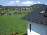 Blick vom Balkon Richtung Ortsausgang