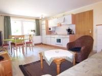 Mühle 4, Wohnraum mit Küche