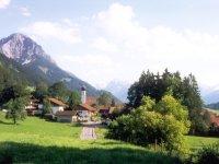 Ihr Urlaubsort Schöllang