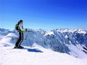 Skigebiet das Höchste