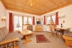 Wohnzimmer Wohnung Nr. 2 Alter Steinachweg