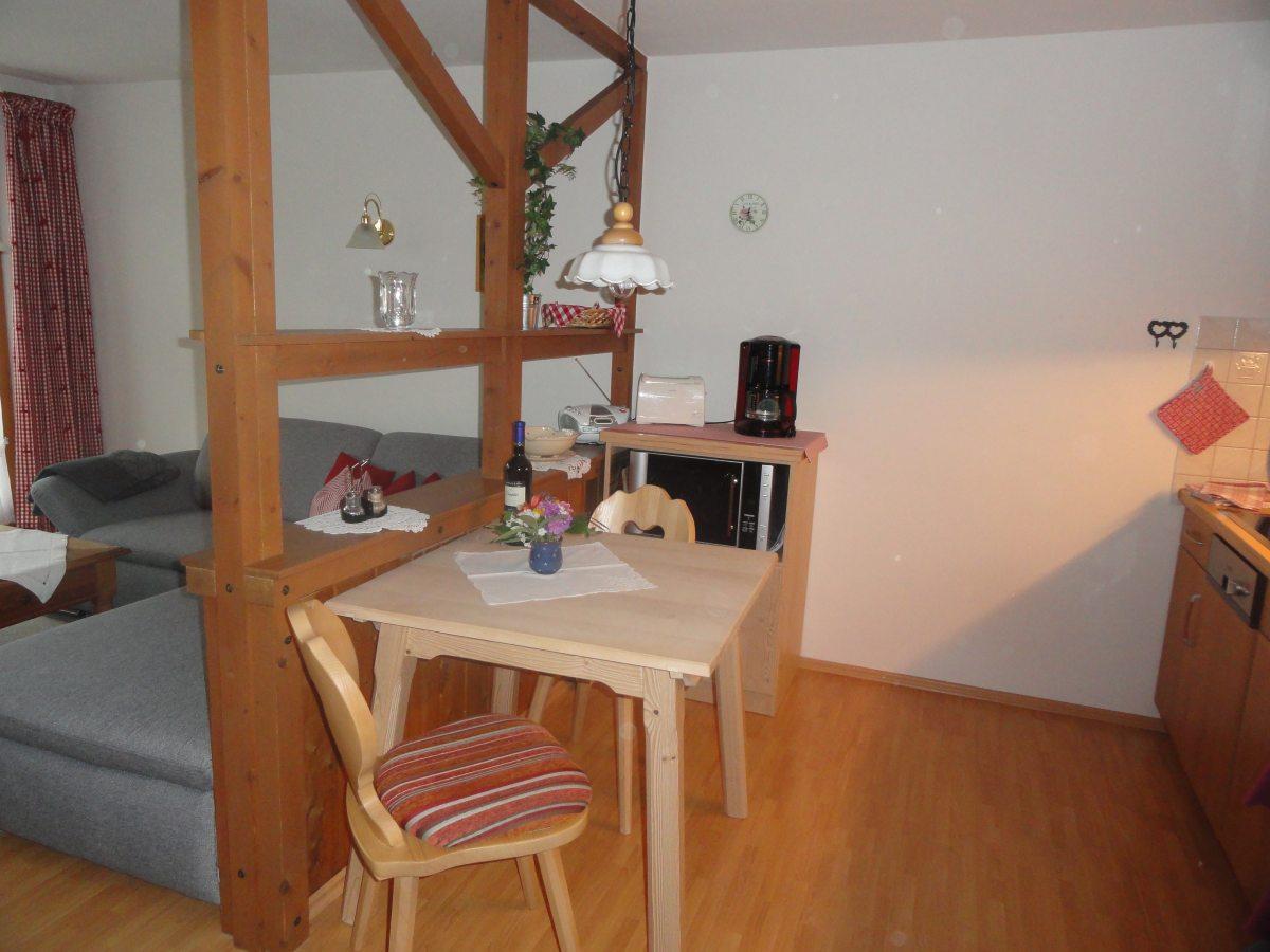 Ferienwohnung 1: Wohnküche