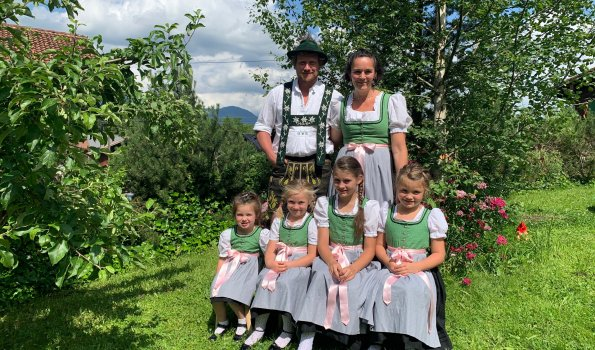 Familie Theresia und Andreas Schwarz