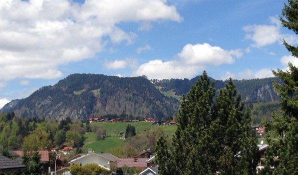 Blick vom Westbalkon FW 2 und 3