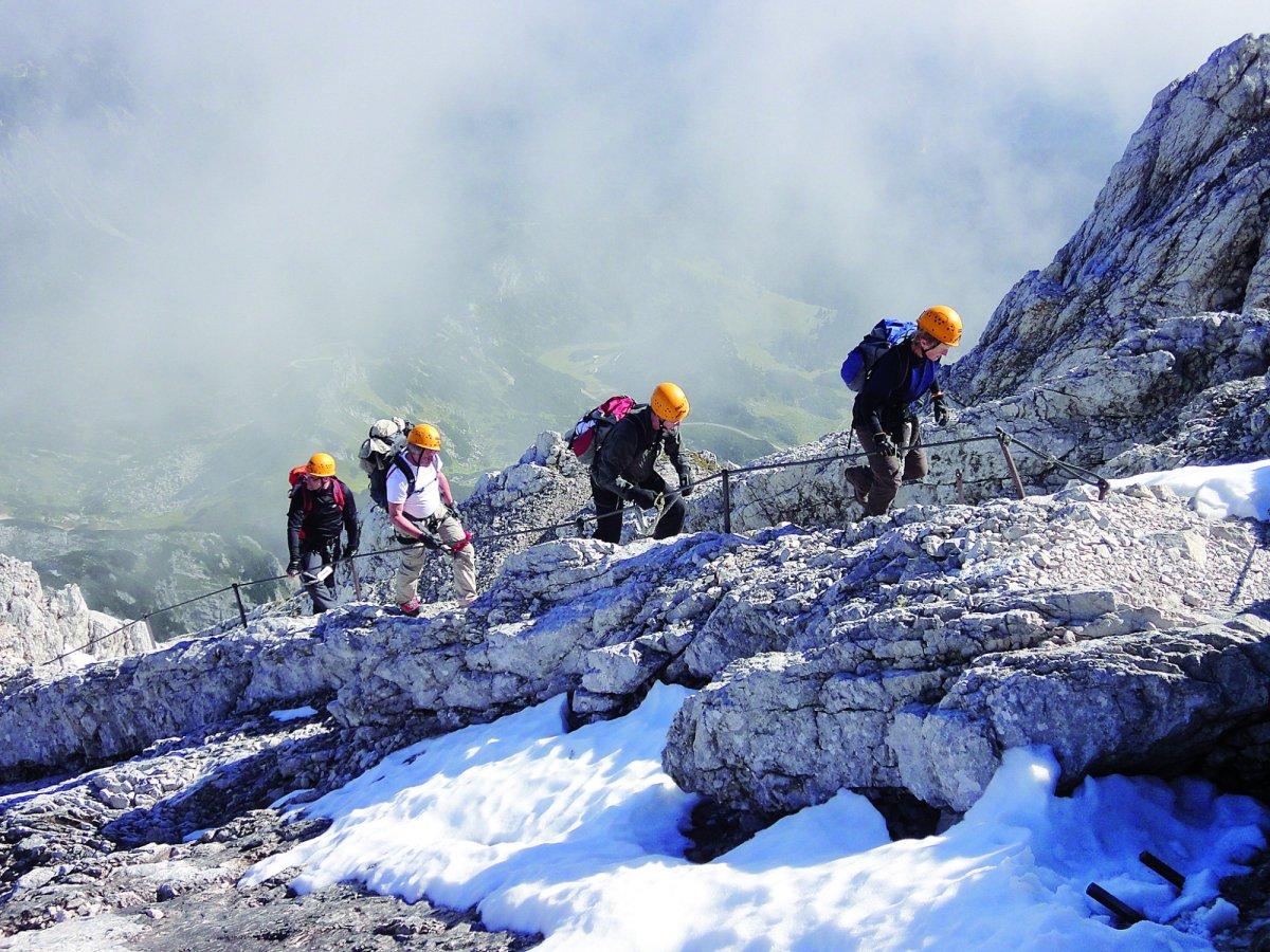 Klettersteig Allgäu : Klettersteige in oberstdorf im allgäu