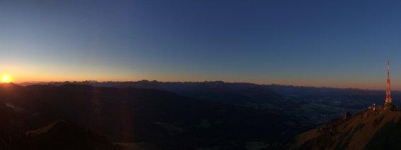 Grünten Sonnenaufgang