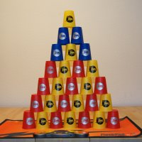 Speedstacking Pyramide