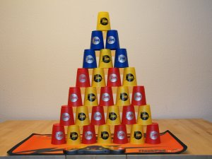 Speedstacking Pyramide