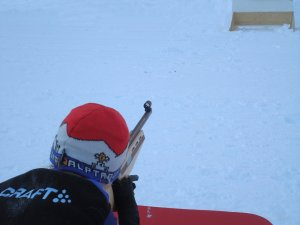 Biathlon schießen