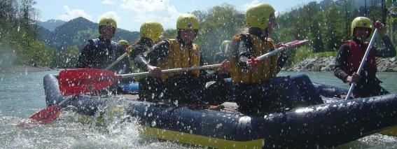Canadier-Rafting