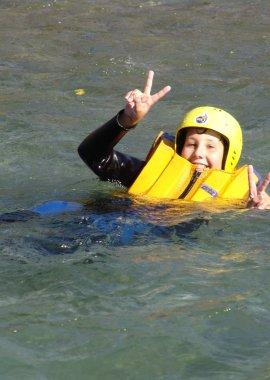 Wildwasserschwimmen