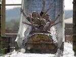 Wildwasserbahn im Skyline Park