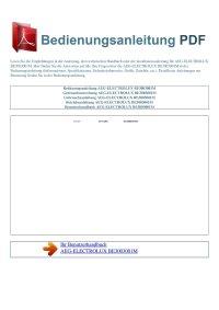 Backofen-AEG-ELECTROLUX-BE3003001M-Bedienungsanleitung-D