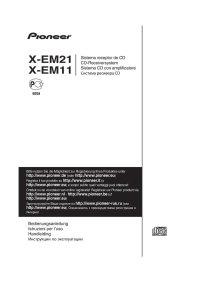 Stereoanlage-PIONEER-X-EM21-Bedienungsanleitung-D-IT-NL-RUS