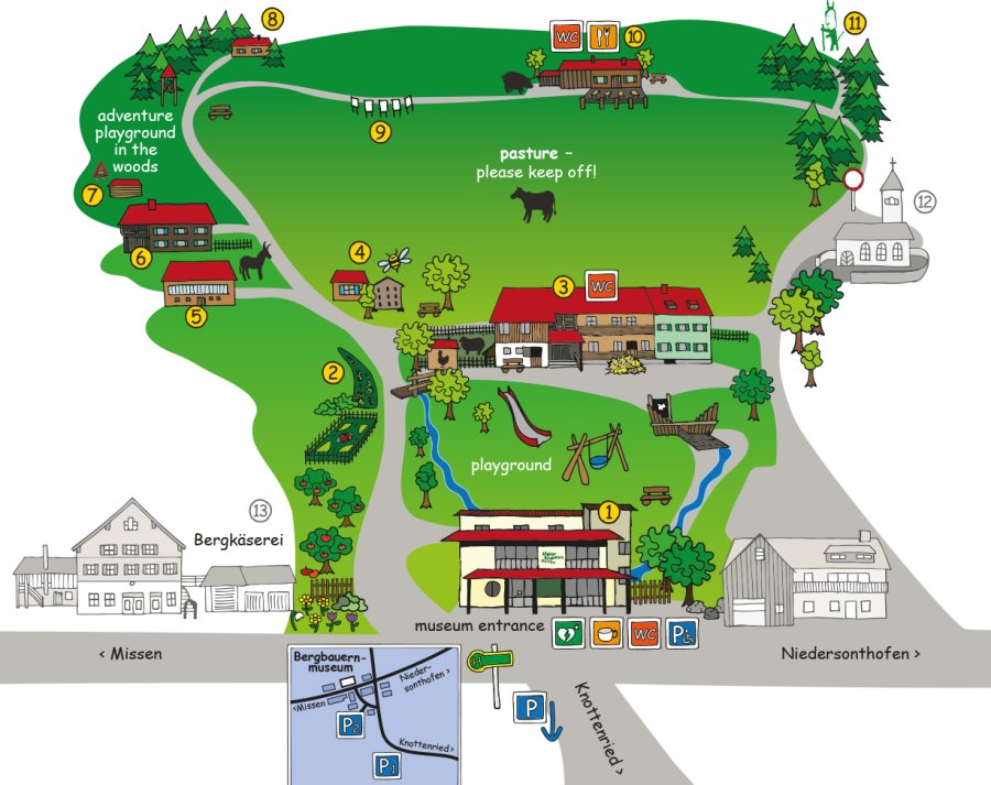 Allgaeuer-Bergbauernmuseum-Karte-EN