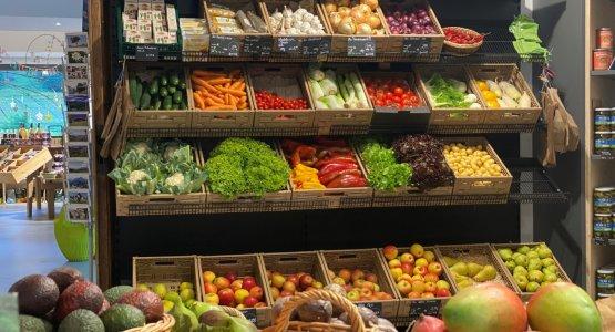 Dorfkäserei Nußbaumer: Regionales Obst und Gemüse