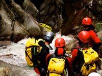 Canyoning Gruppe