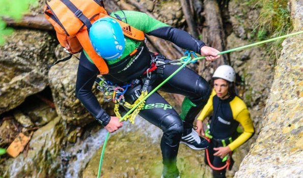 Canyoning Abseiler