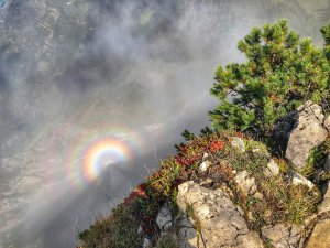 Regenbogen am Einstein