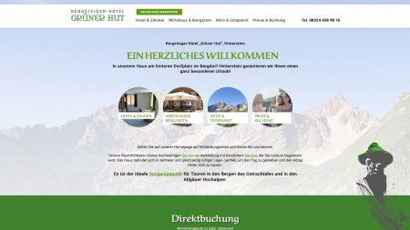 Bergsteiger Hotel Grüner Hut