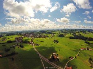 Luftbildaufnahme Altusried