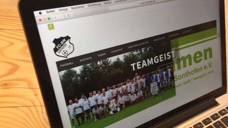 Webseiten - FC Schwarz-Weiß Sonthofen eV