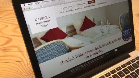 Webseiten - Kaisers das kleine Stadthotel