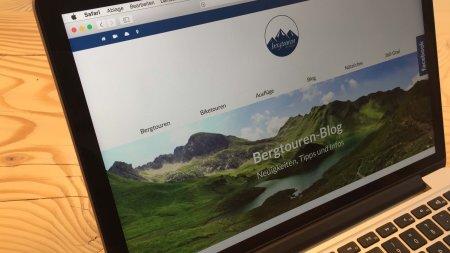 Webseiten - Bergtouren im Allgäu